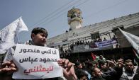 Militantes de Hamas. Foto: AFP