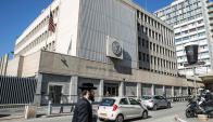 Embajada de Estados Unidos en Tel Aviv. Foto: AFP