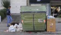 """Edil pretende que colocación de contenedores deje de ser """"arbitraria"""". Foto: A. Colmegna"""
