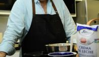 Sergio Puglia es uno de los primeros y principales cocineros mediáticos de Uruguay, hoy con Puglia invita al aire, en Canal 10.