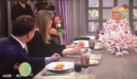 Mirtha recibió a Moria Casán y a varios políticos este domingo (Captura tv)