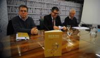 Lanzamiento: Caetano, Trujillo y Garcé: una misma reflexión. Foto: F. Ponzetto