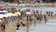 Según el alcalde de Punta del Este, llegaron más turistas argentinos. Foto: Ricardo Figueredo.