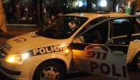 La Policía tuvo un fin de semana intenso con varios asaltos. Foto: Archivo
