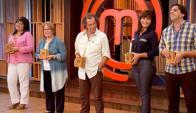 Obaldía, Nano Folle, Ana Durán, Carolina García y el Piñe en MasterChef