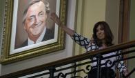 Fernández y Macri serán los principales protagonistas de la campaña. Foto: AFP
