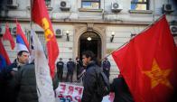 """Comunistas: aseguran que Marcelo Sánchez, es un """"preso político"""". Foto: F. Ponzetto"""