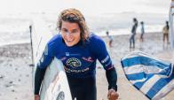Julián Schweizer logró el vicecampeonato sudamericano de Surf en Perú