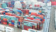 La recuperación de carga en tránsito desde Argentina hizo crecer la actividad. Foto: M. Bonjour