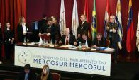 Sesión plenaria del Parlamento del Mercosur (Parlasur) Foto: EFE