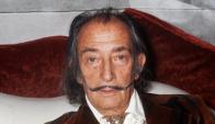 Salvador Dalí. AFP