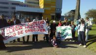 Varios vecinos esperan que el doctor Campolongo retorne a su cargo. Foto: Gentileza del autor