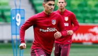 Emiliano Velázquez es jugador del Atlético Madrid pero juega en Sporting Braga. Foto: Marca