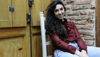 Lucía Trentini ensaya Inconfesable, su próxima obra. Foto: Darwin Borrelli.