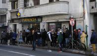 En el primer mes de venta de droga en las farmacias se registraron 13.009 personas. Foto: F. Ponzetto