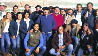 Remataron Walter Hugo y Joaquín Abelenda y su equipo. Foto: archivo El País