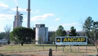 Cemento: la planta de Paysandú disminuyó su producción. Foto: Andrés Sánchez