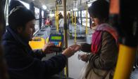 Crisis: los salarios inciden un 72% en precio de boleto. Foto Fernando Ponzetto