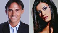 Natacha Jaitt y Diego Latorre