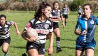 A jugar. El rugby femenino continúa creciendo. Foto: Prensa U.R.U
