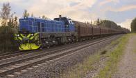 El sistema de tren que exige el emprendimiento de UPM es inédito para el país. Foto: Archivo