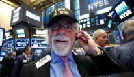 Fue una jornada de récords en Wall Street. Foto: Reuters