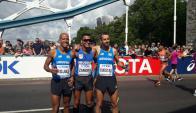 Zamora terminó en el lugar 20 del Maratón de Londres 2017.Foto: Prensa Consudatle