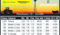 Resultados 181 remate, Plazarural. Foto: El País