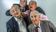 Lado, Toja, Etchandy y Vidal, desde hoy en El Galpón. Foto: A. Perischetti
