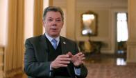 Juan Manuel Santos. Foto: EFE