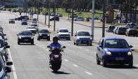 Menos motos: más autos chicos. Esa fue la tendencia del año pasado. Foto: Archivo.