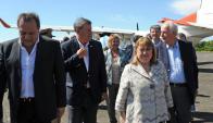 Los cancilleres acordaron ampliar el dragado del Martín García: Foto: Presidencia