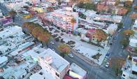 Plaza Portugal: tiene 3 mil metros cuadrados y está ubicada en La Blanqueada. Foto: G. Rodríguez