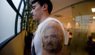 """""""Admiro de Mujica que ha buscado distintas maneras de cambiar el mundo"""", dice. Foto: F. Ponzetto"""