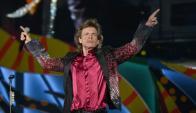 Mick Jagger en el show de La Habana. Foto: AFP