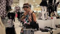 Vestimenta: fue el rubro de mayor baja de precios en julio. Foto: AFP