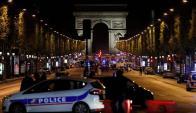 Uno de los lugares más concurridos de París se vio conmocionado por tiroteo. Foto: AFP