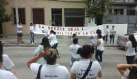 Los trabajadores dicen que les adeudan licencias. Foto: El País