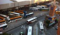 Movilización de pasajeros en Tres Cruces