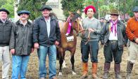 "Gran campeona expuesta por ""Cabaña Santa Inés"" de Osvaldo Sampaio. Foto: Pablo D. Mestre"