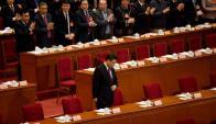 El presidente Xi Jinping llega al Comité Consultivo para discutir políticas. Foto: AFP
