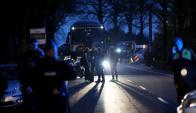 La policía no calificó ayer al ataque como una acción terrorista. Foto: AFP