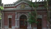 Obras de restauración del Teatro Español de Durazno. Foto: V. Rodríguez