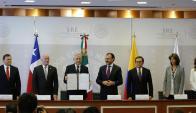 Reunión de la Alianza del Pacífico en Ciudad de México. Foto: EFE