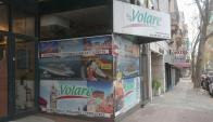 La agencia de viajes Volare permanece cerrada desde hace una semana. Foto: F. Flores