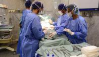El 32% de los partos en el Clínicas fueron inducidos; se espera que no supere el 10%. Foto: G. Pérez