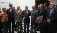 Homenaje: Paolillo fue distinguido por las empresas periodísticas argentinas. Foto: A. Colmegna