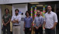 El equipo de los emprendedores en SocialLab. Foto: Gabriel Rodríguez