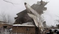 Accidente aéreo en Kirguistán. Foto: Reuters