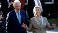 El voto de Hillary Clinton. Foto: Reuters.